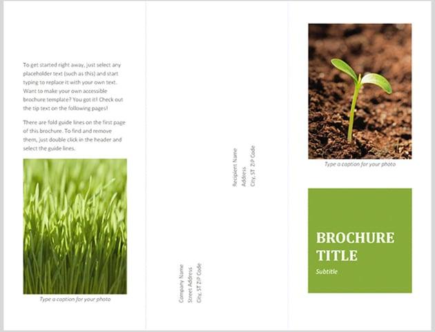 Microsoft Word Guide Brochure