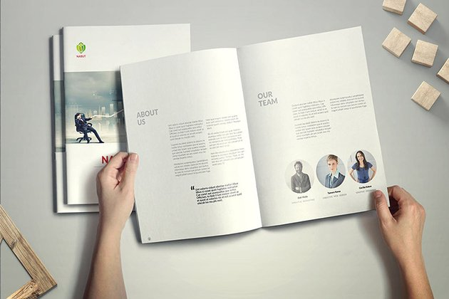 Bifold Brochure Design