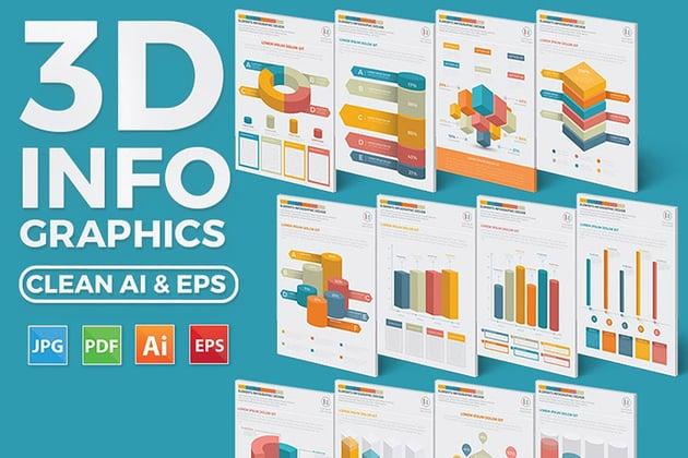 3D Inforgraphic Elements