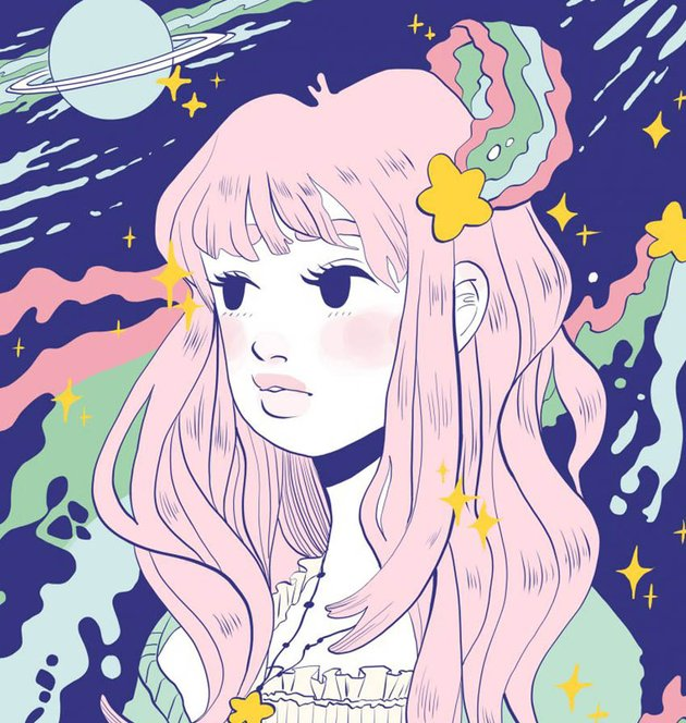 Space Girl by Amy Stoddard