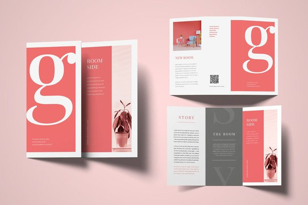 Design Brochure Trifold Template