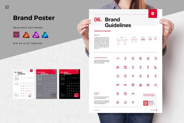 Brand Guidelines Poster Flyer
