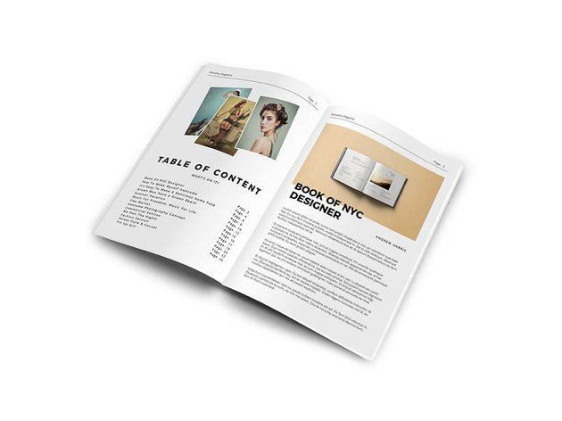 Magazine Design Template