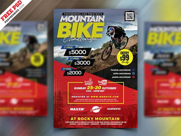 Bike Rally Event Flyer