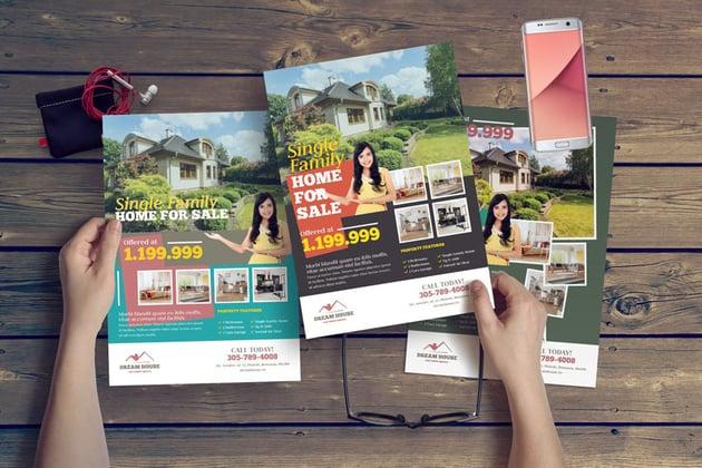 Real estate template design