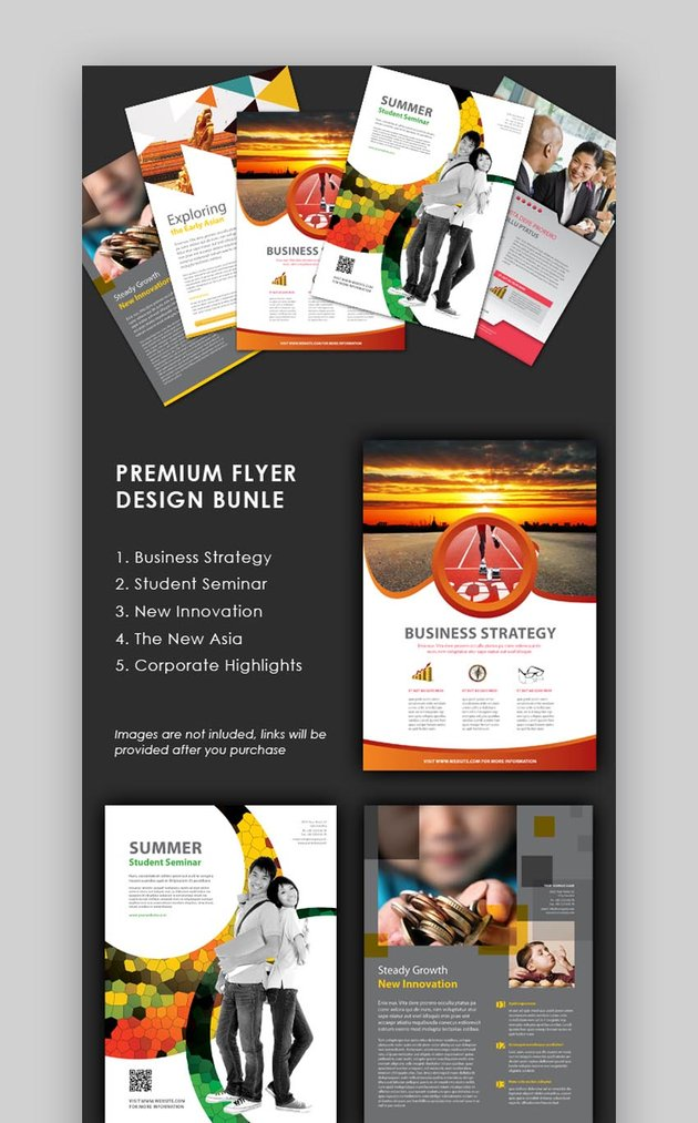 Five Flyer Design Templates