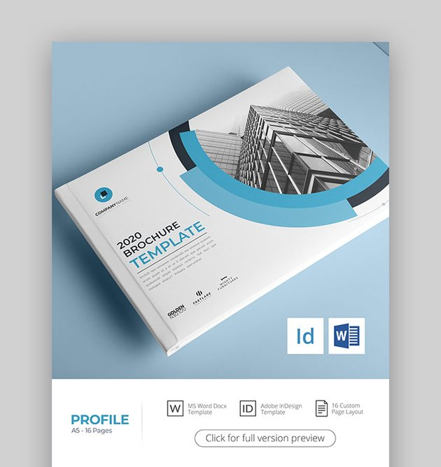 A5 Brochure Template InDesign