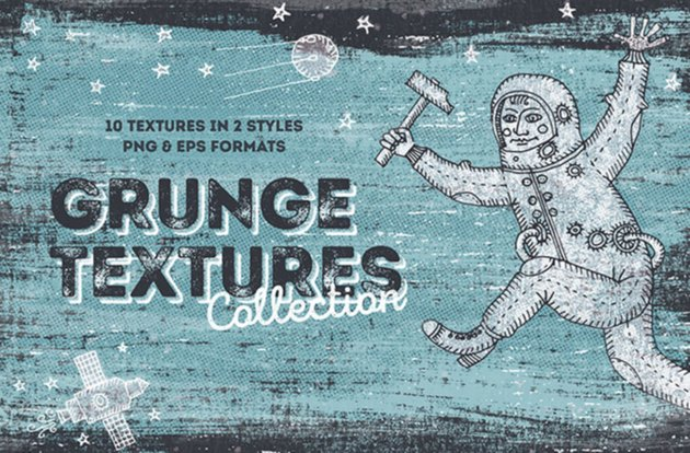 10 Free Hand Drawn Textures
