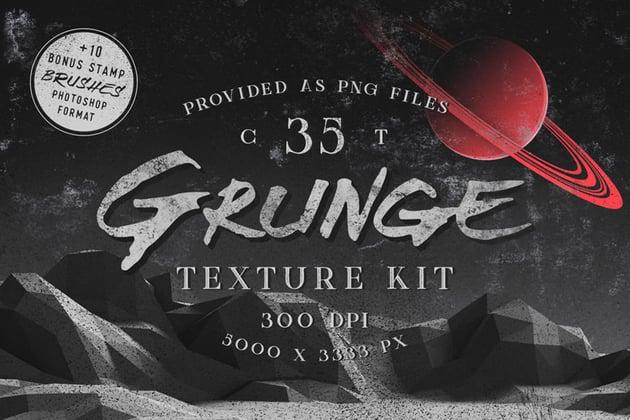 Photoshop Grunge Textures Kit