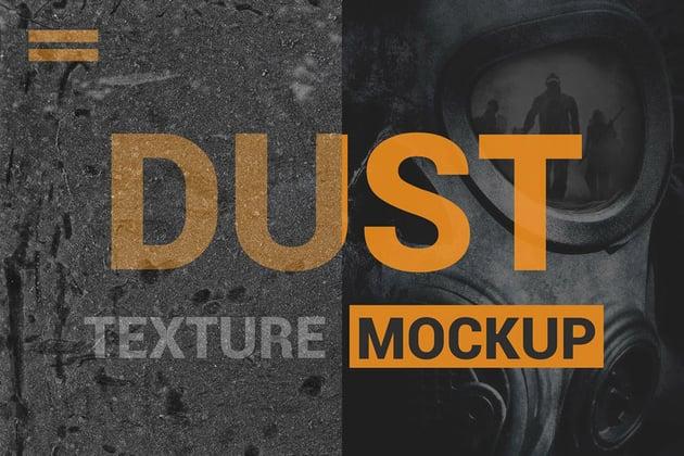 Photoshop Dust Texture Mockup