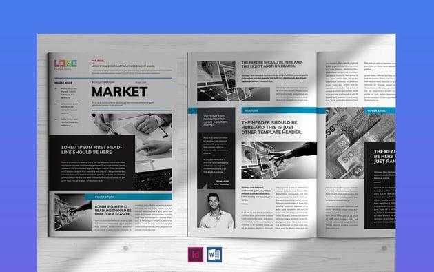 Market Newsletter Template