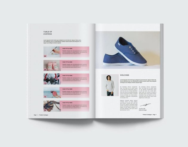 Multipurpose Product Catalog Template