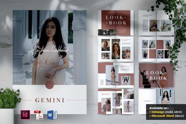 Fashion Lookbook Catalogue Template