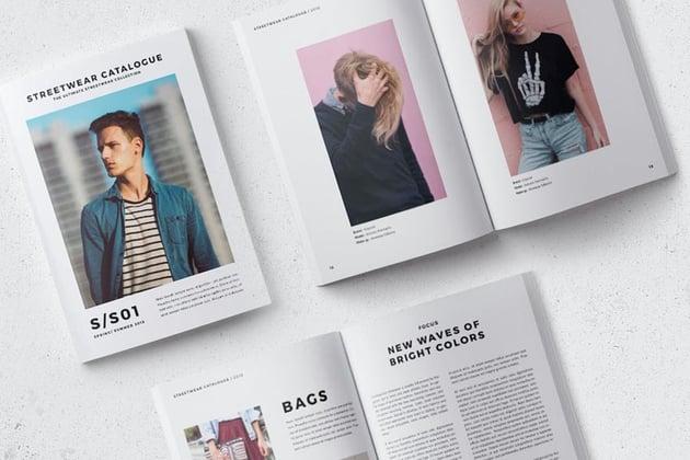 Streetwear Fashion Catalogue Template