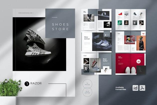 Shoes Catalogue Brochures