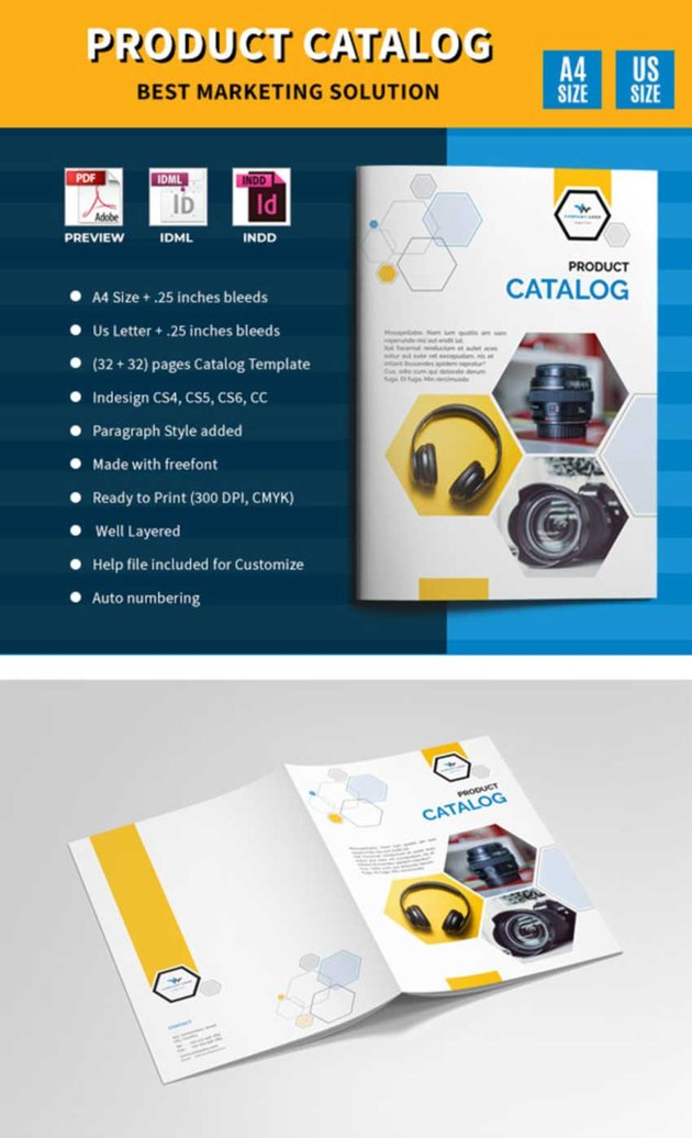 Product Catalog Design Template
