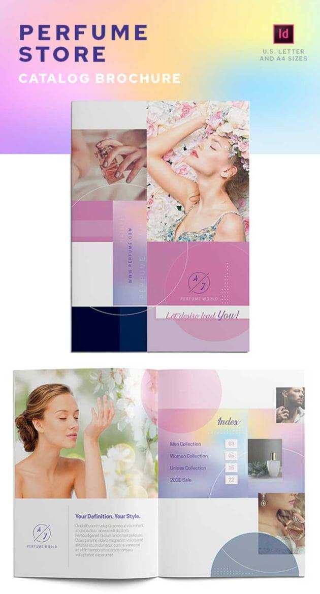 Store Catalog Design Template
