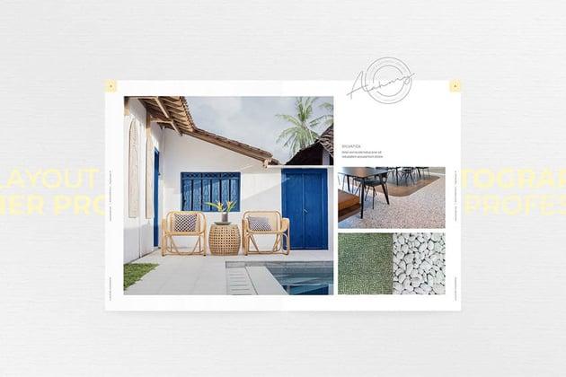 Photobook Portfolio Design Template