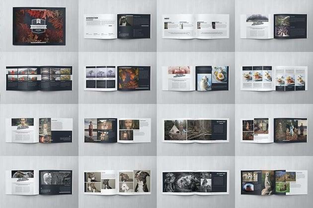 Elegant Photo Album InDesign Template