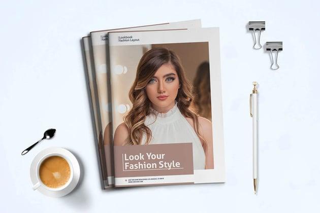 Modern Lookbook Fashion Template