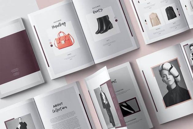 Stylish Lookbook Template Design