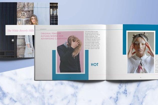 InDesign Fashion Lookbook Template Design