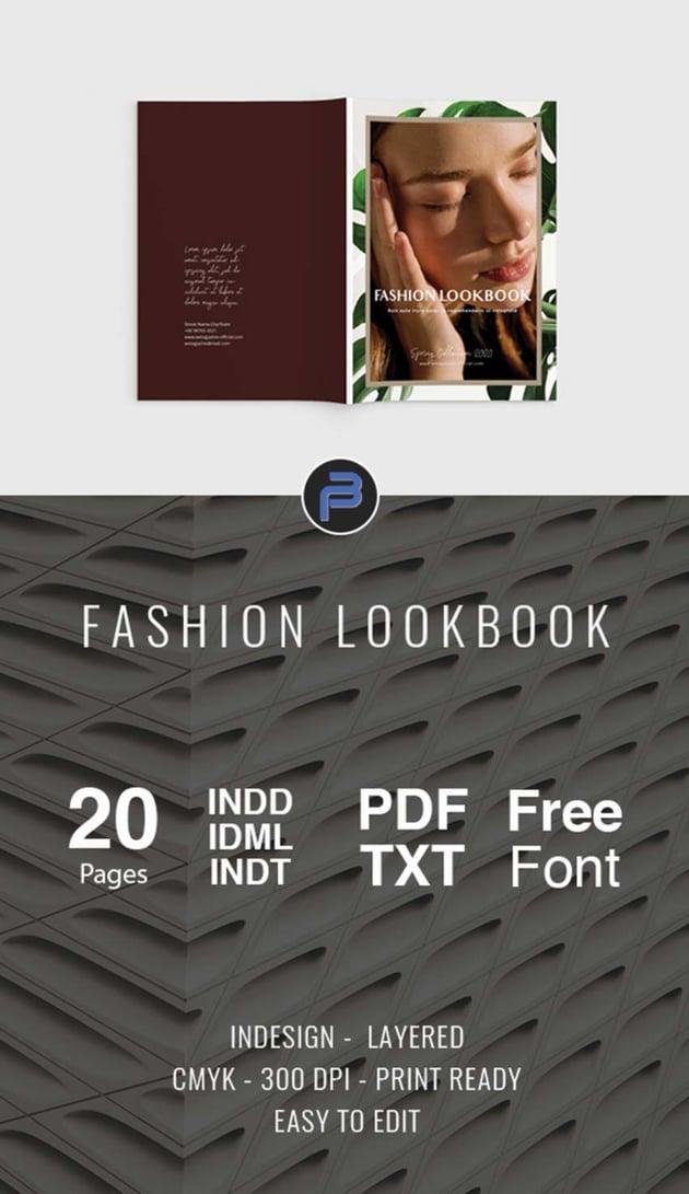 Fashion Look Book Design Template