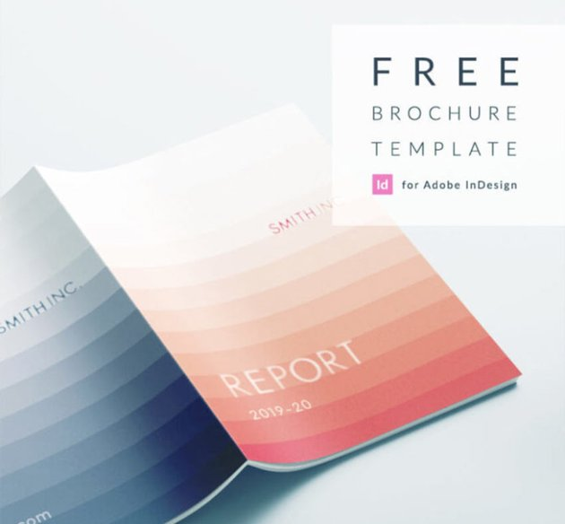 Free Report Brochure Business Proposal Template