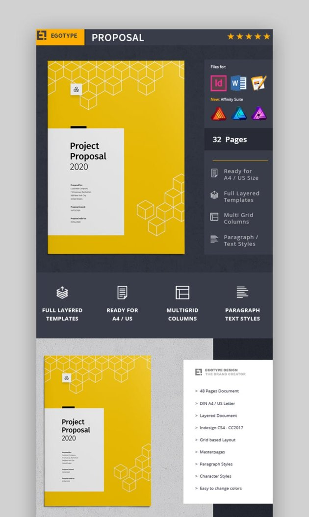 Business Project Proposal Marketing Template
