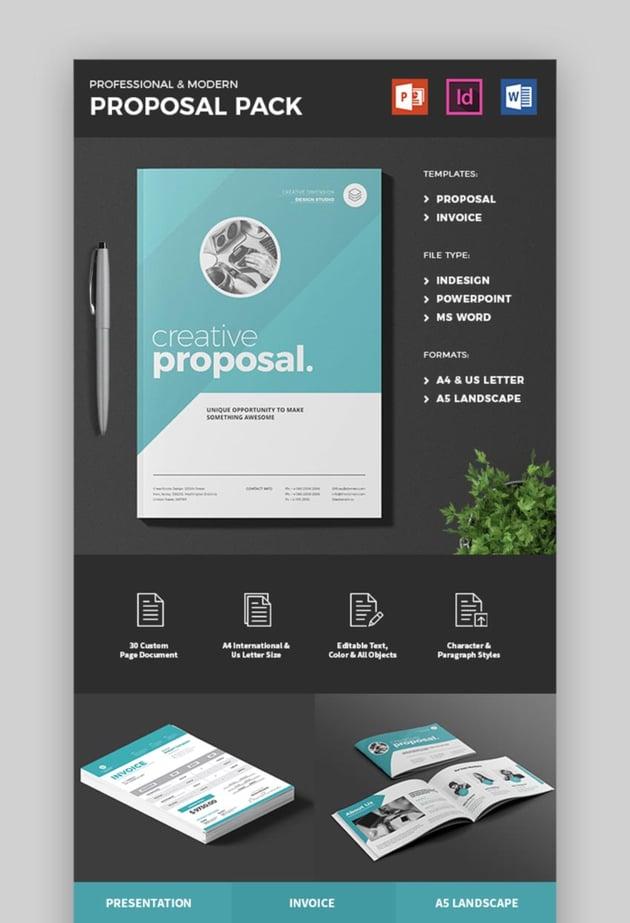 Creative Business Proposal Template Design