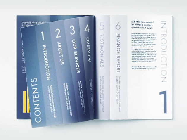 Free Proposal Template InDesign