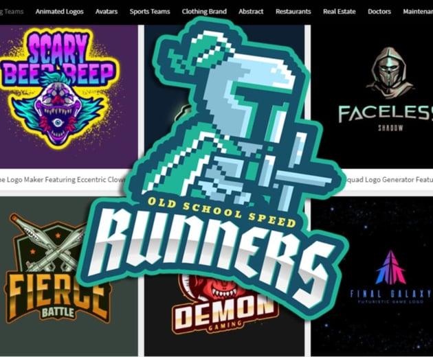 Gaming Logo Template Design