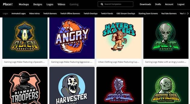 Gaming Clan Logo Maker