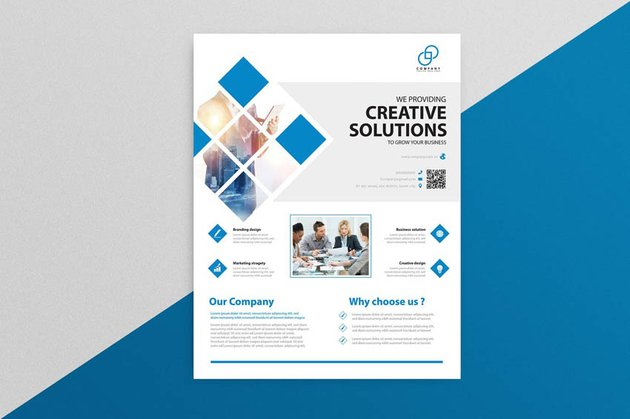 business design flyer