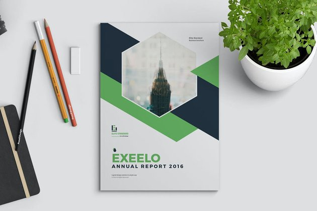 Adobe InDesign Annual Report Template