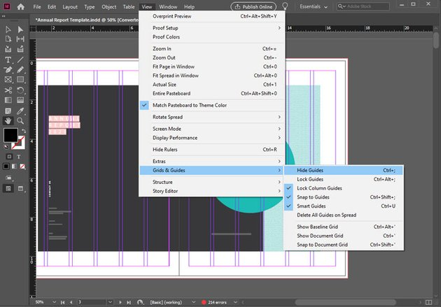 InDesign Guides