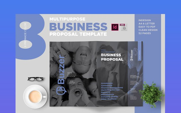 Clean and Professional Business Proposal