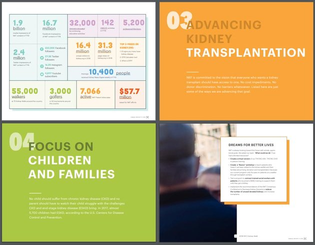 The National Kidney Foundation Annual Report