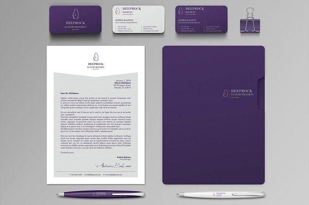 business stationery design templates