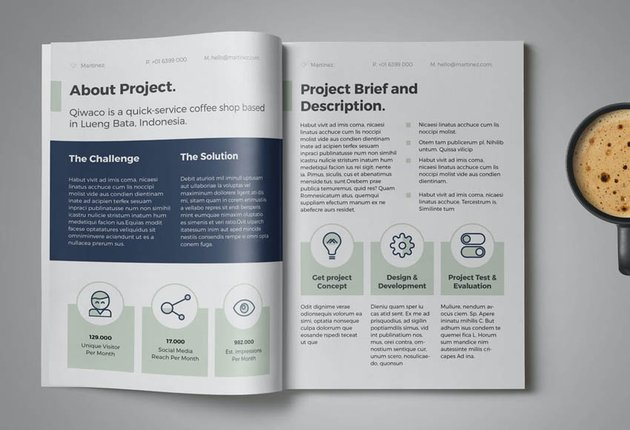 professional business proposal template
