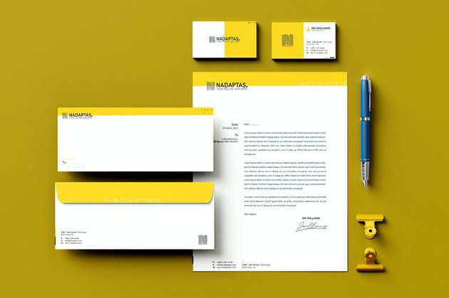 Business Stationery Design