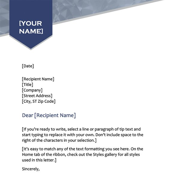 Arrow Letterhead Free Stationery Design