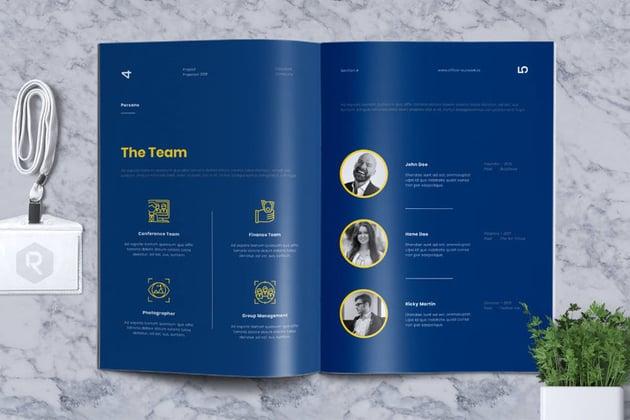 design proposal template