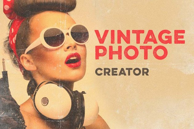 Vintage Photo Creator Book Cover Ideas