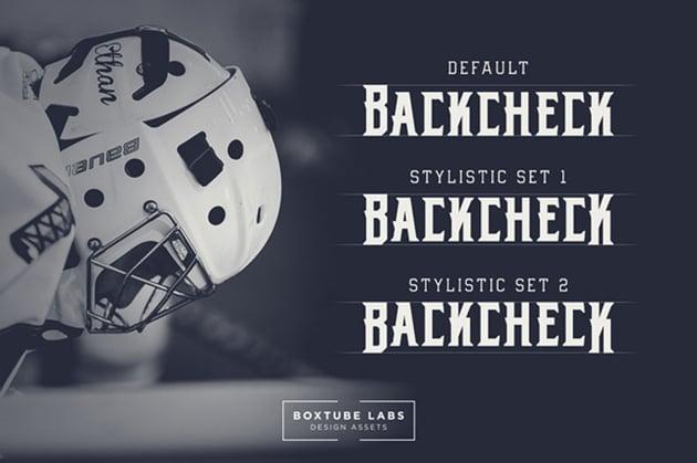 sports team fonts