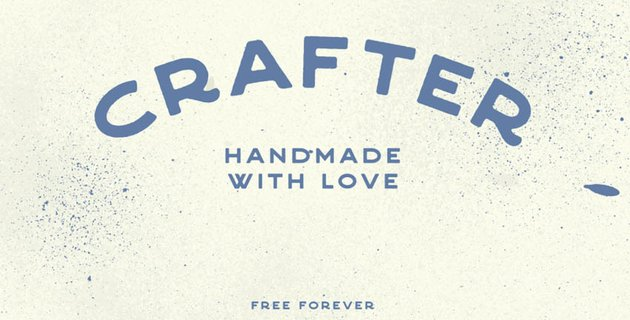 Crafter Free Font