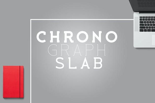 Chrono Graph Slab Font