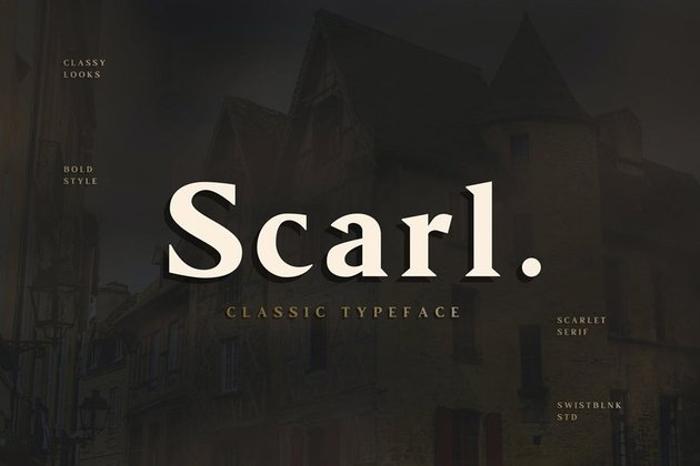 Scarl Modern Bold Fonts