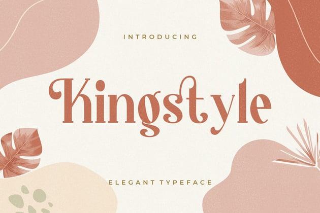 Kingstyle Modern Serif Fonts