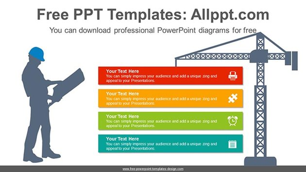 Free PowerPoint Templates Building Construction